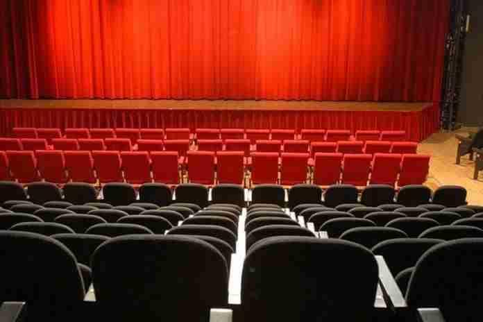 Interno del Teatro dell'Angelo  photo credit: Roma.Repubblica.it
