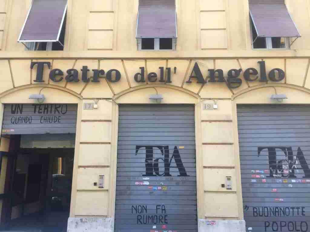 Foto esterno del Teatro dell'Angelo  photo credit: linkimmobiliare.it