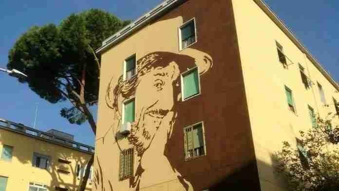 Gigi Proietti murales