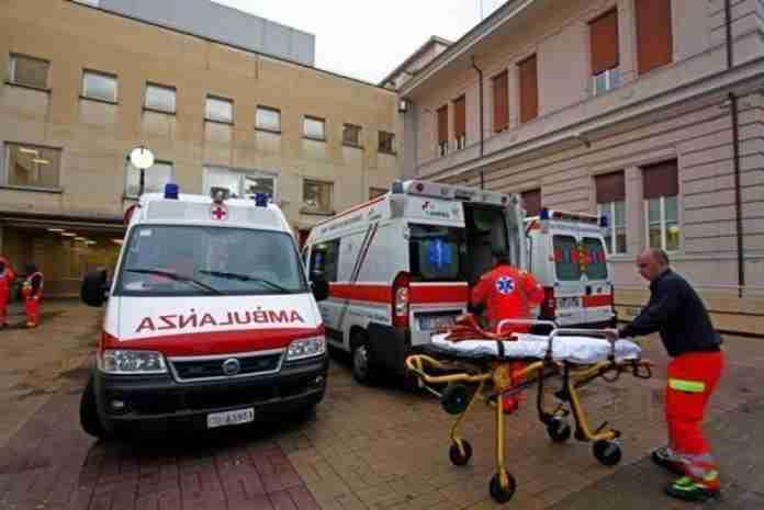 Ospedale Roma Ambulanza Barella