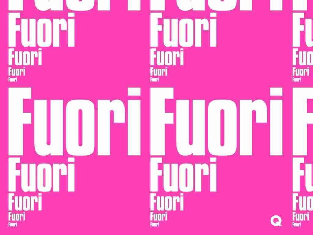 Palazzo delle Esposizioni, Logo de La Quadriennale di Roma 2020 FUORI – Photo credits: artapartofculture.net