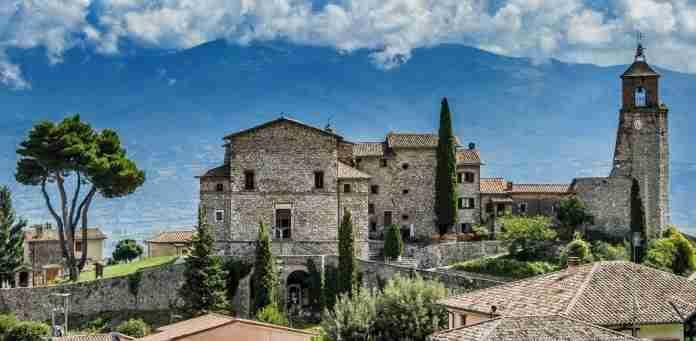 Greccio: il borgo medievale dove nacque il primo presepe vivente