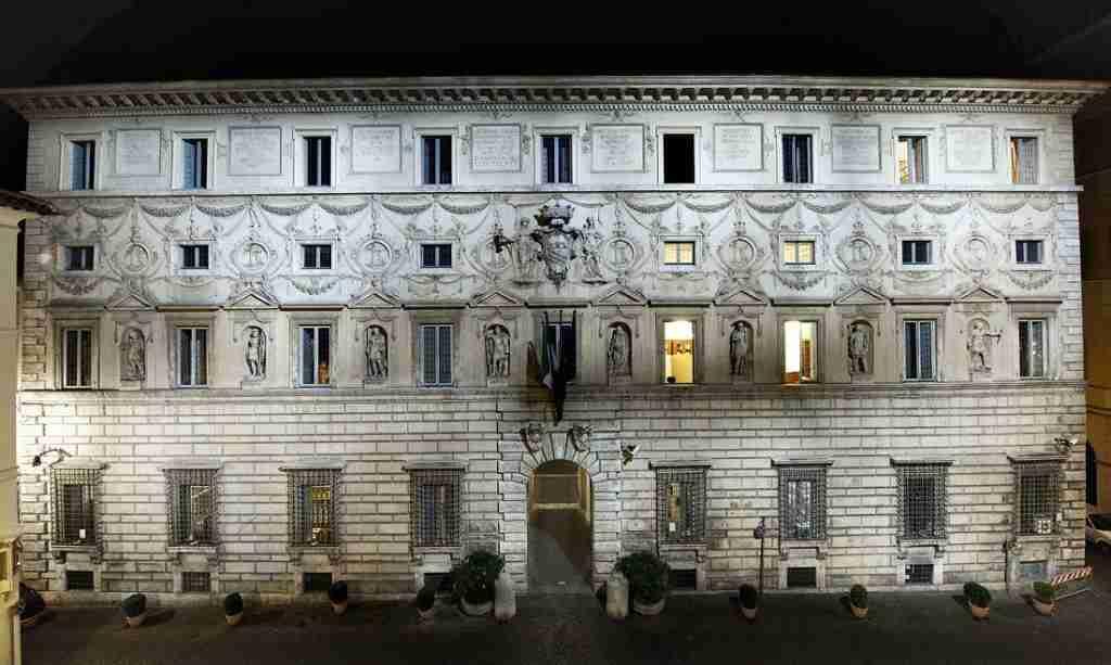 Palazzo Spada-Borromini rione Regola photo credit: teggellar.com
