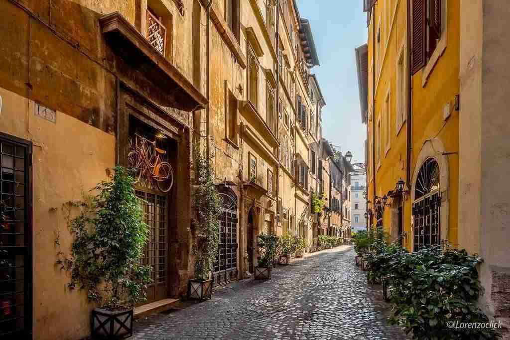 Immagine Via dei Coronari  photo credit: Karismatravel.eu ©Lorenzoclick