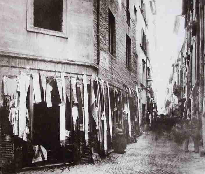 Immagine del ghetto ebraico di Roma  photo credit: corsoitalianews.it
