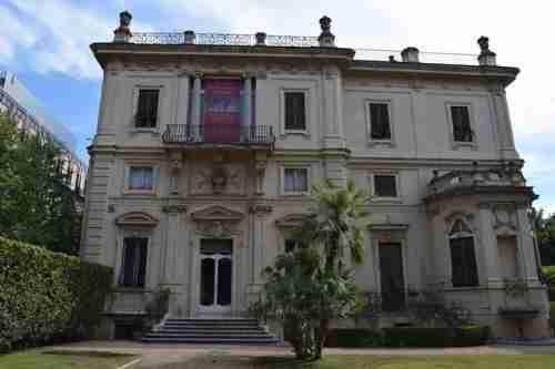 Immagine del villino Boncompagni Ludovisi nel rione Sallustiano   photo credit: storico.beniculturali.it