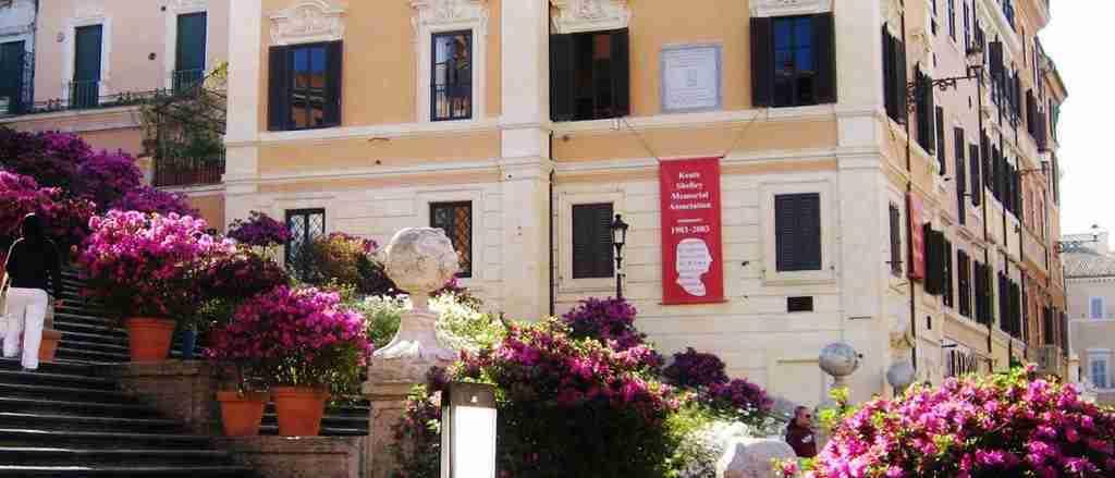 Casa-museo Keats-Shelley a piazza di Spagna a Roma photo credit: geekoeditor.it