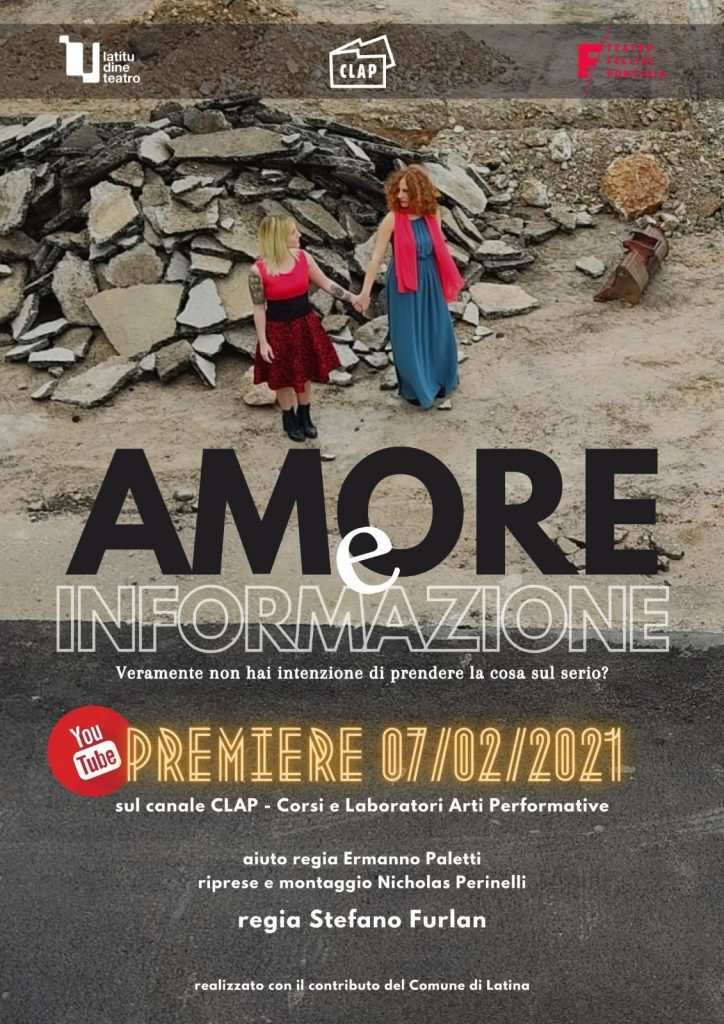 "Locandina di ""Amore e informazione""  photo credit: latinatu.it"