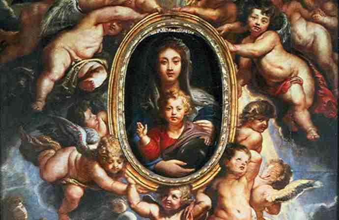 Rubens: il suo quadro motorizzato custodisce una preziosa reliquia