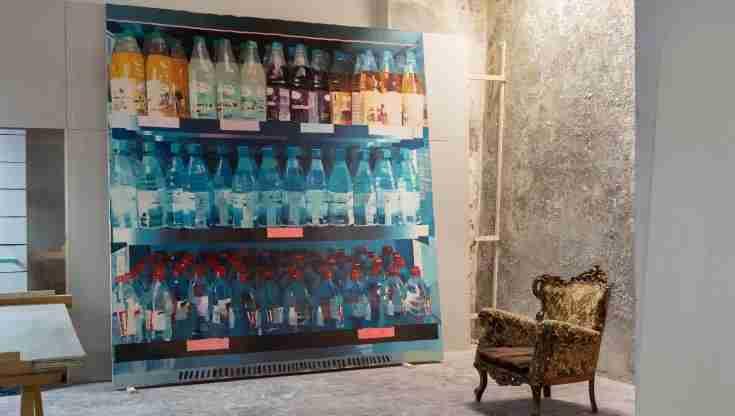Nella foto una mostra esposta in uno spazio privato  photo credit: cittadi.it