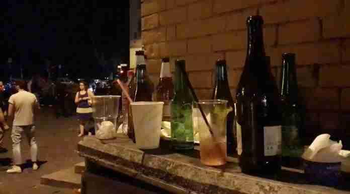 Divieto di asporto di bevande alcoliche: prorogato fino al 31 luglio