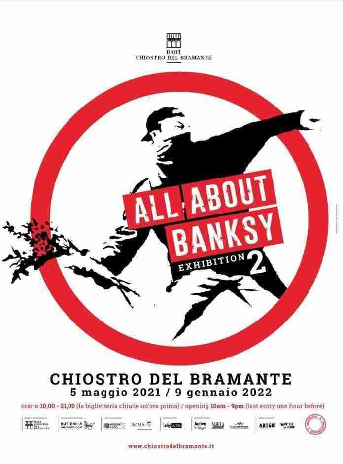 ALL ABOUT BANKSY, la mostra dell'artista al Chiostro del Bramante