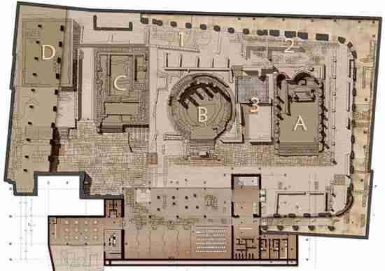 Nella foto la piantina dell'Area Sacra di Torre Argentina  photo credit: romanoimpero.com