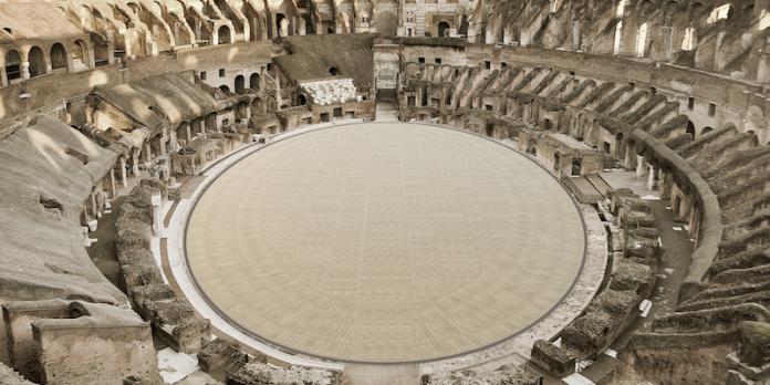 """L'arena del Colosseo nel 2023 sarà """"High tech e total green"""""""