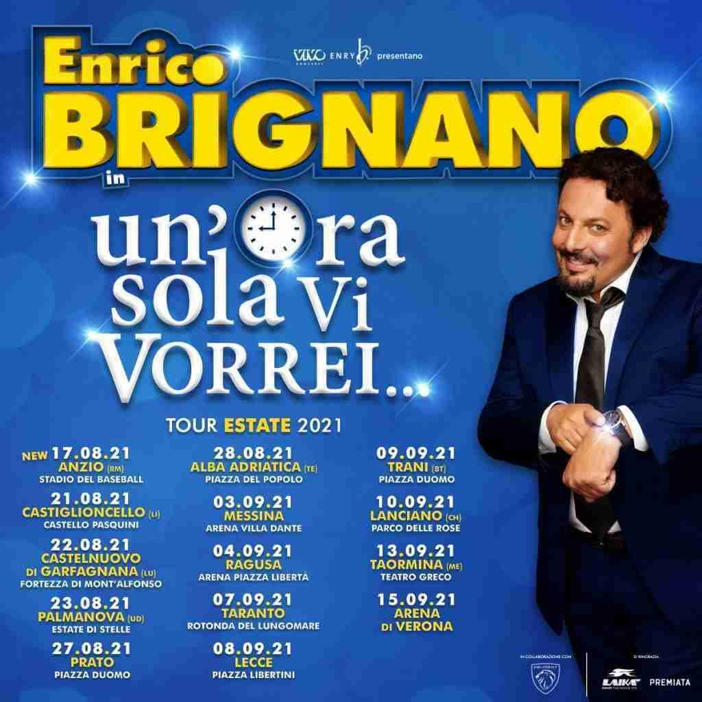 Enrico Brignano, Un'ora sola vi vorrei - Photo Credits: press vivo concerti