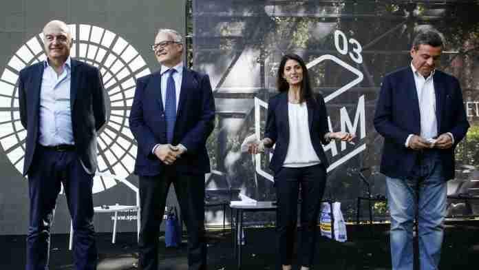 Sindaco Roma, prima sfida tra i quattro candidati. Enrico Michetti lascia il confronto