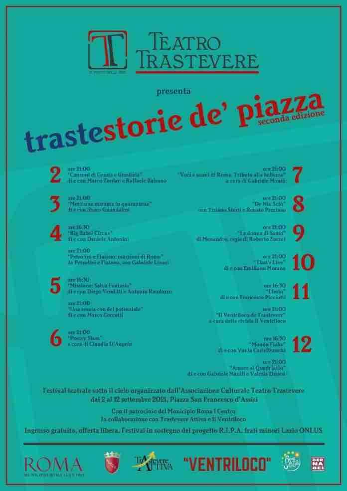 TRASTESTORIE - Ufficio Stampa Vania Lai
